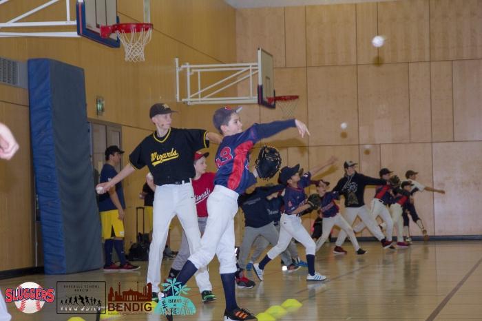 Throwing Programm - Working on the Rhythm